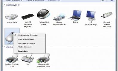 Usa el ratón de Apple en tu ordenador
