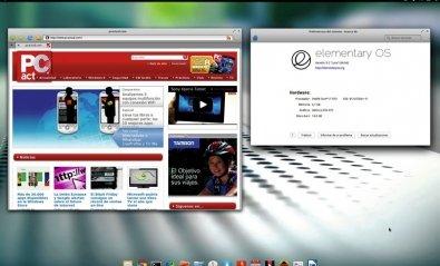 Elementary OS  0.2 Luna Beta 1 mezcla Ubuntu y Mac OS X