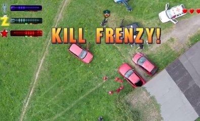 GTA 2 recreado en la vida real gracias a un dron