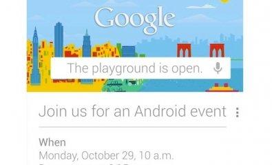 Google convoca un evento sobre Android para el 29 de octubre