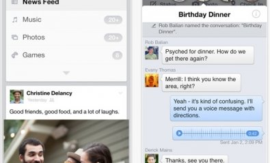 Facebook lleva sus burbujas de chat a iPhone e iPad
