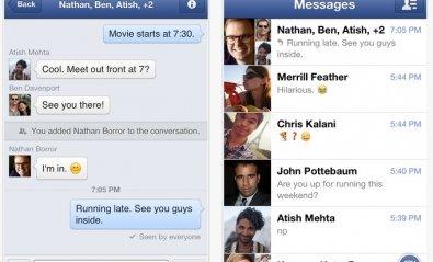 Facebook añade voz a su Messenger para iOS y Android