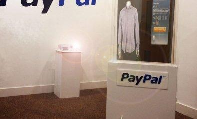 PayPal permite comprar en tiendas desde el escaparate