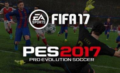 PES 2017 vs FIFA 17: ¿cuál es el mejor juego de fútbol del año?