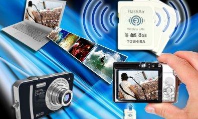 Toshiba anuncia una tarjeta SDHC con conectividad Wi-Fi