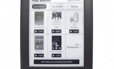 Fnac Touch, el eReader de la cadena de tiendas francesa