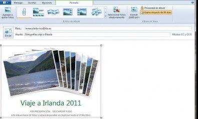 Fotocorreo con Windows Live Mail
