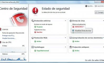 G Data InternetSecurity 2013, seguridad a un precio ajustado
