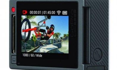 GoPro HERO 4 con grabación 4K y pantalla táctil