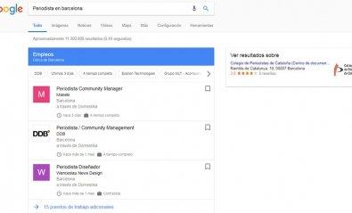 Google se suma a la búsqueda de empleo con Google for Jobs