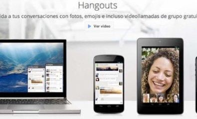 Hangouts, la aplicación de mensajería de Google