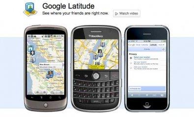 Google Latitude: para no perder a nadie