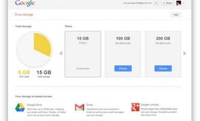 Google unifica sus opciones de almacenamiento