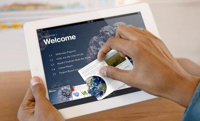 Apple lanza iBooks 2, el libro de texto digital llega a la escuela