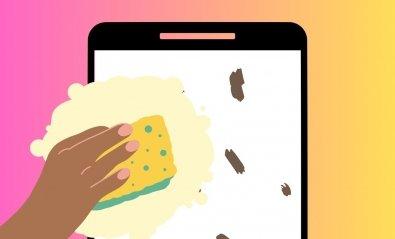 Cómo limpiar la pantalla del móvil sin dañarla