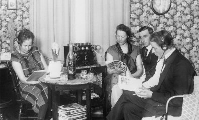 Radio facsímil, los periódicos que se distribuían vía FM