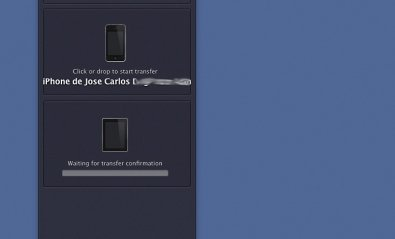 Transferir archivos entre el iPad, iPhone y el Mac sin iTunes