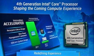 Intel presenta sus procesadores Core de cuarta generación