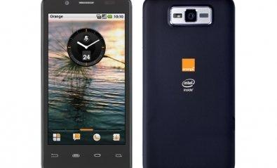 Llegan los primeros smartphones y tablets con Intel