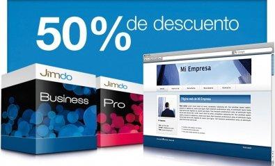 Crea fácilmente tu propia página web con Jimdo