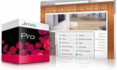 Gana una licencia de JimdoPro y crea tu página o tienda web