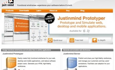 Justinmind, solución para prototipado de aplicaciones