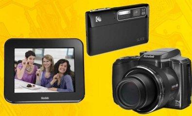 Kodak presenta un marco digital con e-mail y una cámara-álbum