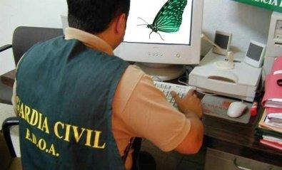 La Guardia Civil desmantela una botnet y detiene a tres españoles