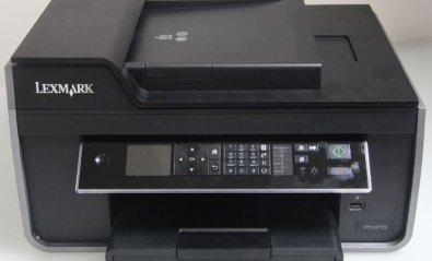 Lexmark Pro715, orientada más a la empresa que al hogar