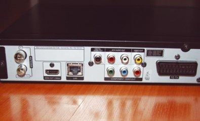 Reproductor de Blu-ray Disc LG Living Box HR500