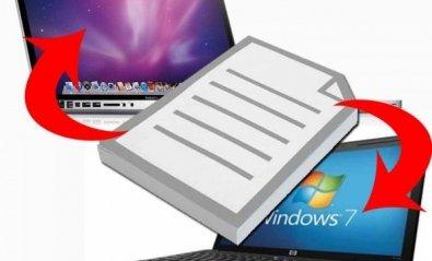 Compartir archivos entre Mac y Windows 7