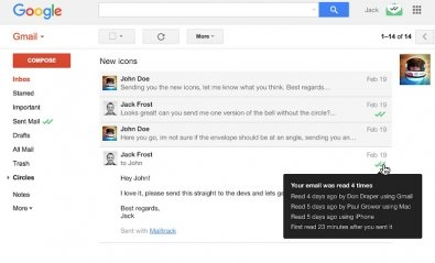 Cómo tener confirmación de lectura en Gmail