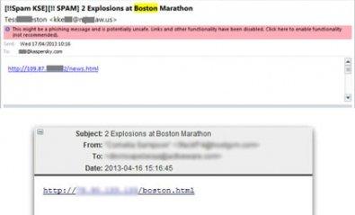 Los ciberdelincuentes actúan tras el atentado de Boston