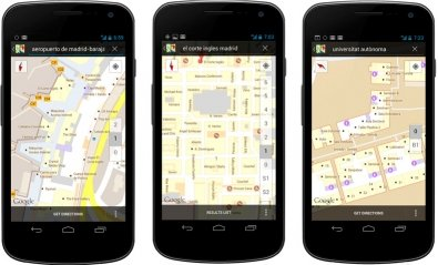Los mapas de Google muestran el interior de 67 edificios españoles