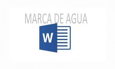 Cómo añadir una marca de agua a un documento de Word