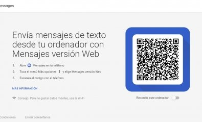 Cómo enviar SMS y MMS desde el PC con Mensajes Android