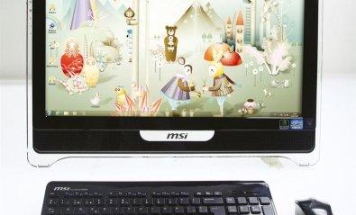 MSI Wind Top AE2211, con pantalla táctil y gráficos dedicados