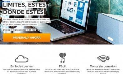 Napster lanza en España su servicio de música en streaming