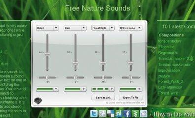 Crea tus propios sonidos de la naturaleza