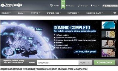 Nominalia suma 9.000 nuevos clientes en el año 2011