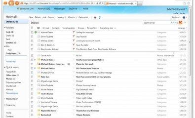 Hotmail se renueva con una gestión del correo más eficaz