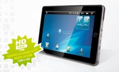 Nvsbl P4D Sirius, una tablet española de precio ajustado