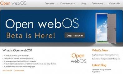 HP lanza en código abierto la primera beta de Open WebOS