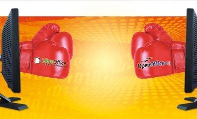 OpenOffice vs LibreOffice, dos magníficas suites
