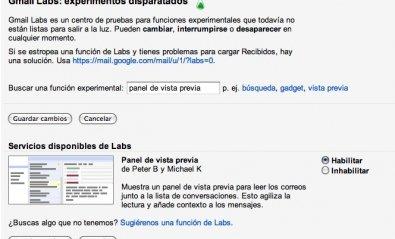 Cómo habilitar el panel de vista previa en Gmail