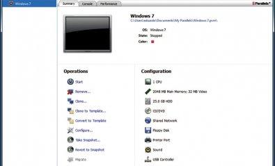 Software de virtualización Parallels Workstation 6