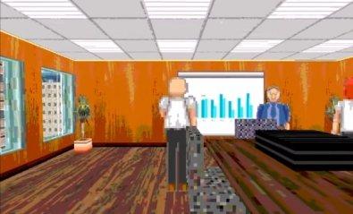 Payroll, un simulador de oficina con grafícos de Windows 95