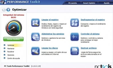 PC Tools Performance Toolkit 2011: herramientas fáciles de usar