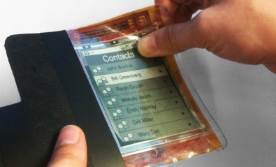 Llega PaperPhone, prototipo del teléfono de papel