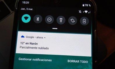Cómo recuperar las notificaciones de Android borradas